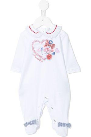 MONNALISA Schlafanzüge - Anchor heart logo print pyjamas