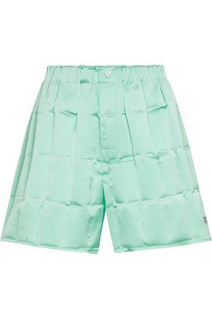 Coperni Damen Shorts - Shorts aus Satin