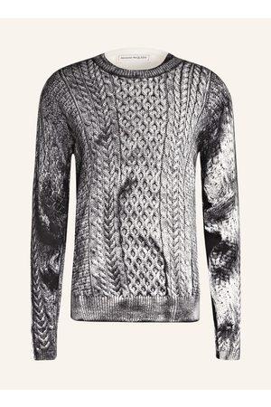 Alexander McQueen Herren Sweatshirts - Pullover Mit Seide