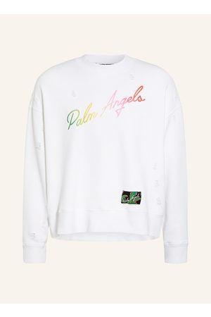 Palm Angels Herren Sweatshirts - Sweatshirt weiss