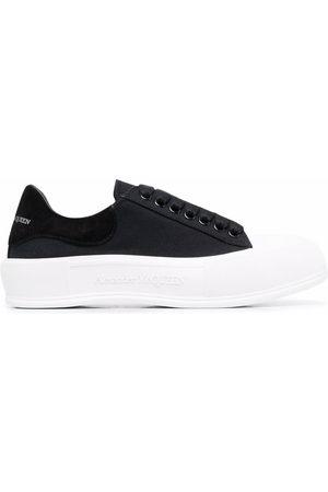 Alexander McQueen Herren Schnürschuhe - Deck lace-up plimsoll sneakers