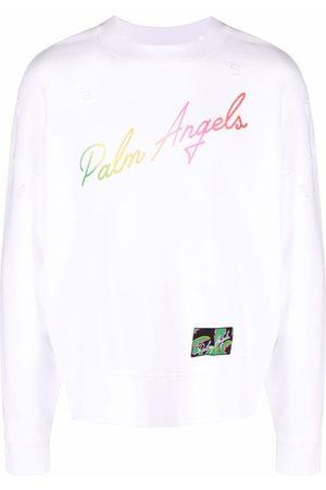 Palm Angels Herren Sweatshirts - Miami logo sweatshirt