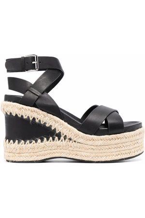 Ash Damen Sandalen - Raffia-wedge sandals