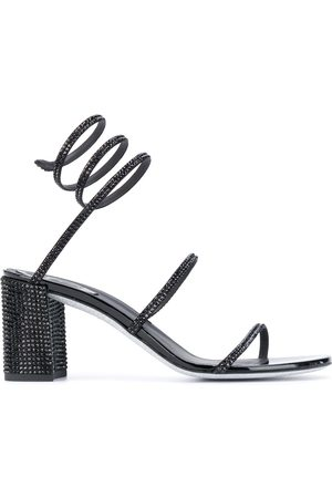 RENÉ CAOVILLA Damen Sandalen - Spiked spiral-ankle sandals