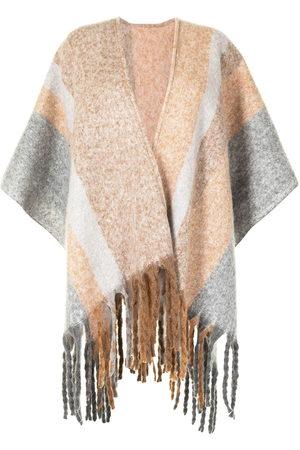 Unreal Fur Damen Jacken - Ecuador fringed poncho