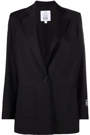 Armani Single-buttoned tailored blazer