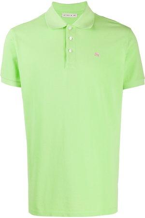 Etro Herren Poloshirts - Embroidered-logo polo shirt