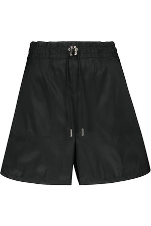 Alexander McQueen High-Rise Shorts