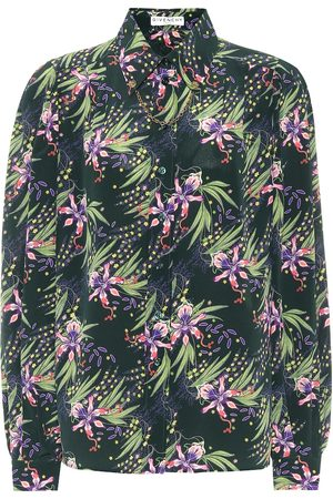 Givenchy Bedruckte Bluse aus Seide