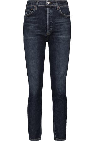 AGOLDE High-Rise Slim Jeans Nico