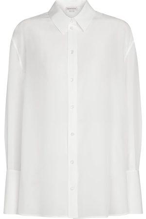Alexander McQueen Hemd aus Seiden-Chiffon
