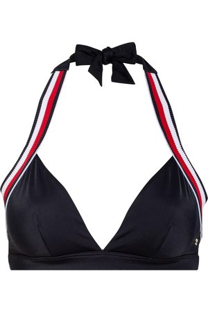 Tommy Hilfiger Triangel-Bikini-Top blau