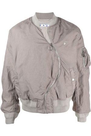 Off-White Herren Sommerjacken - Twist bomber jacket
