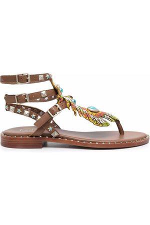 ASH Pandora embellished leather sandals