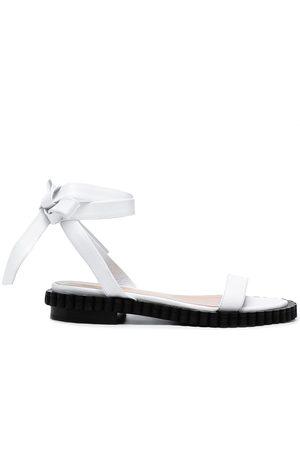 COLIAC Bow-detail leather sandals