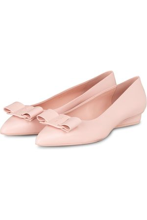 Salvatore Ferragamo Ballerinas Viva pink