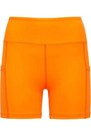 YEAR OF OURS Damen Shorts - Radlerhose Mit Hohem Bund
