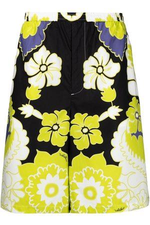 Valentino Herren Shorts - Arazzo-print bermuda shorts