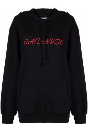 RODARTE Logo-embroidered hoodie