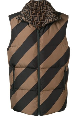 Fendi Reversible quilted gilet