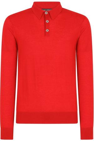 Dolce & Gabbana Herren Lange Ärmel - Long-sleeve polo shirt