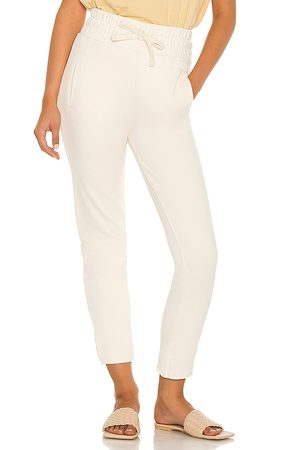 AllSaints Lila Sweatpants in - Cream. Size 0 (also in 00, 2, 4, 6, 8).