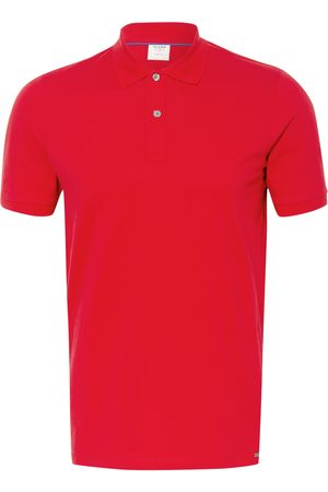 Olymp Herren Poloshirts - Piqué-Poloshirt Level Five Body Fit braun