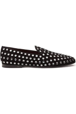 Dolce & Gabbana Star-studded slippers