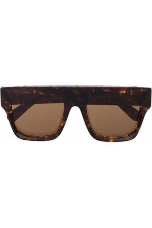 Stella McCartney Damen Sonnenbrillen - Tortoiseshell aviator-frame sunglasses