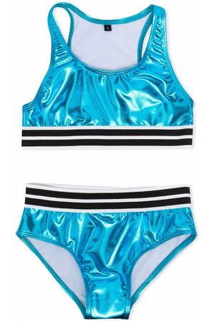 Le pandorine Metallic two-piece bikini