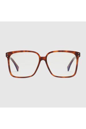 Gucci Herren Sonnenbrillen - Sonnenbrille mit rechteckigem Rahmen