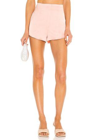 NBD Sandrine Hot Short in - Blush. Size L (also in XXS, XS, S, M, XL).