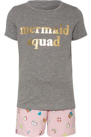 NAME IT Damen Shorts - Set: T-Shirt Und Shorts