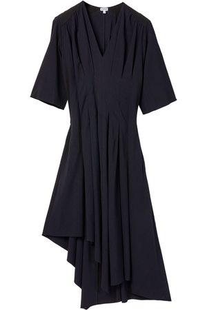 Loewe Asymmetrisches Kleid Aus Stretch-viskose