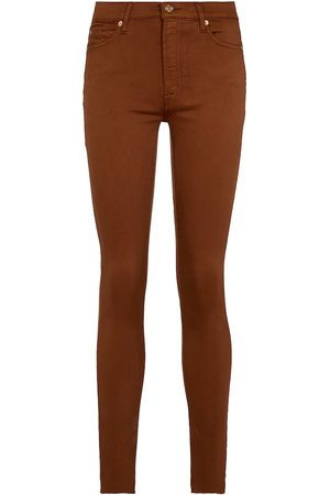 7 For All Mankind High-Rise Jeans Slim Illusion