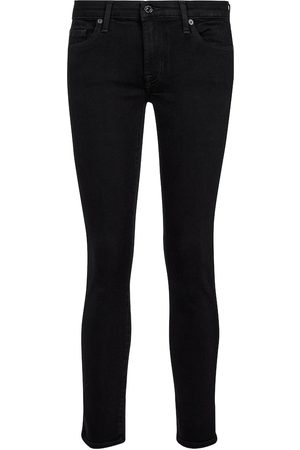 7 for all Mankind Mid-Rise Jeans Pyper Slim Illusion
