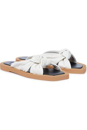 Jimmy Choo Sandalen Tropica aus Leder