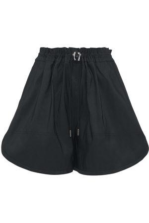 Alexander McQueen Damen Shorts - Minishorts Aus Faille