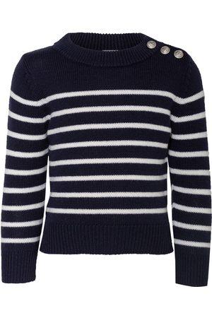 Petit Bateau Herren Strickpullover - Pullover blau