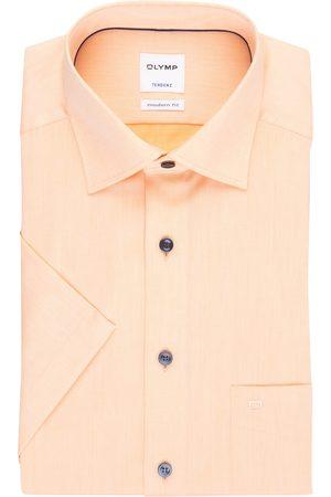 Olymp Kurzarm-Hemd Tendenz Modern Fit orange