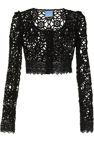 Macgraw Damen Blusen - Noble broderie anglaise blouse