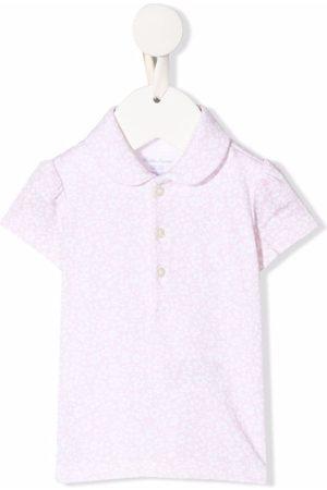 Ralph Lauren Kids Poloshirts - Floral-print polo shirt