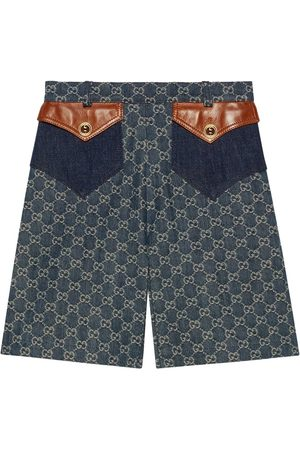 Gucci Eco washed denim shorts