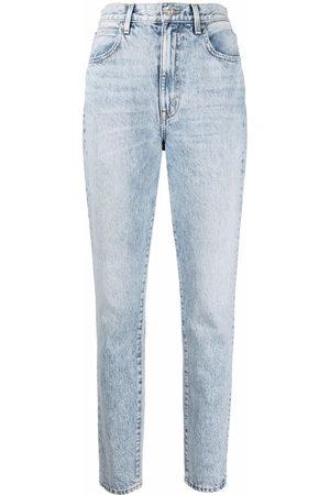 SLVRLAKE Damen High Waisted - High-waisted skinny-legged jeans