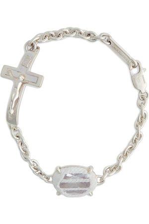 Sweetlimejuice Crucifix stone bracelet