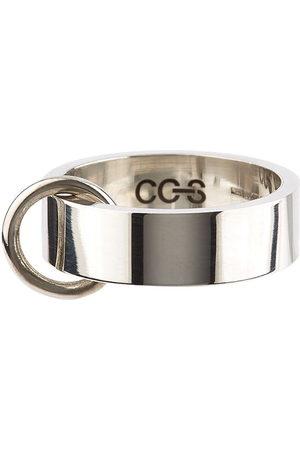 CC Steding O-ring flat band ring