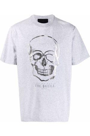 Philipp Plein Herren Shirts - Skull-print T-shirt