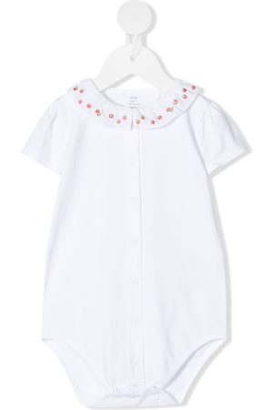 KNOT Baby Bodies - Strawberry-embroidered body