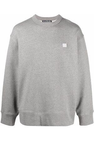 Acne Studios Face patch oversized sweatshirt
