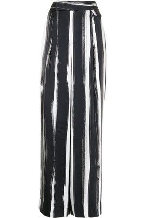 Equipment Damen Weite Hosen - Saganne wide-leg trousers